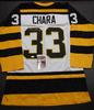 Zdeno Chara Boston Bruins Autographed Custom Road White Jersey w/JSA W coa