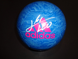 Lionel Messi Barcelona Autographed Soccer Ball w/GA coa