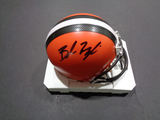Baker Mayfield Cleveland Browns Autographed Riddell Mini Helmet w/GA coa