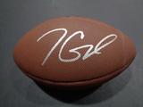 Jimmy Garoppolo San Francisco 49ers Autographed Wilson Football w/GA coa