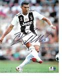 Christiano Ronaldo Juventas F.C. Autographed 8x10 Jeep Photo w/GA coa