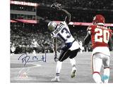 Phillip Dorsett New England Patriots Autographed 8x10 TD Photo w/ Exclusive Full Time coa
