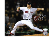 Bobby Poyner Boston Red Sox Autographed 8x10 Photo w/JSA W coa