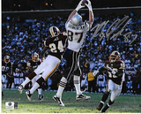 Rob Gronkowski New England Patriots Autographed 8x10 1st TD Photo w/GA coa