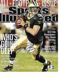 Drew Brees New Orleans Saints Autographed 8x10 SI Cover Photo w/GA coa