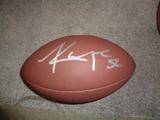 Khalil Mack Chicago Bears Autographed Wilson Football w/GA coa