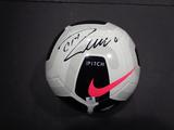 Christiano Ronaldo Juventas Autographed Soccer Ball w/GA coa