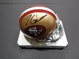 Jimmy Garoppolo San Francisco 49ers Autographed Riddell Mini Helmet w/GA coa