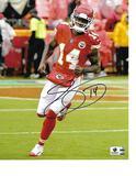 Sammy Watkins Kansas City Chiefs Autographed 8x10 Photo w/GA coa