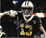 Michael Thomas New Orleans Saints Autographed 8x10 Eating Photo w/GA coa