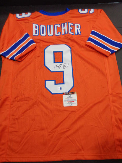 ADAM SANDLER Autographed Bobby Boucher The Waterboy Custom Football Style Jersey w/GA coa