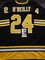 Terry O'Reilly Boston Bruins Autographed Custom Road Black Hockey Style Jersey w/JSA W coa