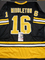 Rick Middleton Boston Bruins Autographed Custom Road Black Hockey Style Jersey w/JSA W coa