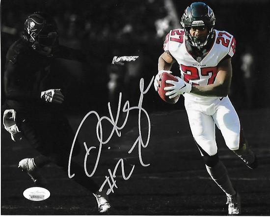 Damontae Kazee Atlanta Falcons Autographed 8x10 Blackout Photo w/JSA W coa