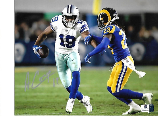 Amari Cooper Dallas Cowboys Autographed 8x10 vs Rams Photo w/GA coa