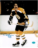 Derek Sanderson Boston Bruins Autographed 8x10 Photo w/Full Time coa