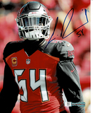 Lavonte David Tampa Bay Buccaneers Autographed 8x10 Solo photo w/Full Time Authentics coa