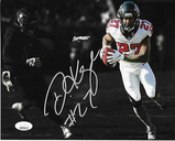 Damontae Kazee Atlanta Falcons Autographed 8x10 Blackout Photo w/JSA W coa