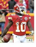 Tyreek Hill Kansas City Chiefs Autographed 8x10 Profile Photo w/GA coa