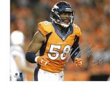 Von Miller Denver Broncos Autographed 8x10 Running Photo w/ GA coa