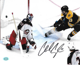 Charlie Coyle Boston Bruins Autographed 8x10 Goal Photo w/Full Time coa