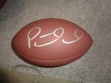 Patrick Mahomes Kansas City Chiefs Autographed Wilson Football w/GA coa