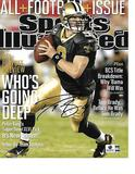 Drew Brees New Orleans Saints Autographed 8x10 SI Cover Photo w/GA coa