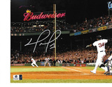 David Ortiz Boston Red Sox Autographed 8x10 Budweiser Photo w/GA coa