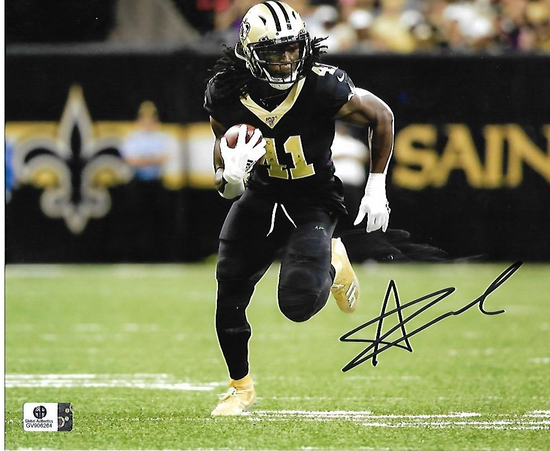 Alvin Kamera New Orleans Saints Autographed 8x10 Photo GA coa