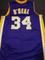Shaquille O'Neal Los Angeles Lakers Custom Basketball Style Jersey GA coa