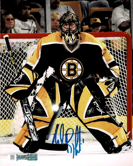 Andrew Raycroft Boston Bruins Autographed 8x10 Photo Full Time coa