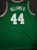 Robert Williams III Boston Celtics Custom Basketball Style Jersey GA coa