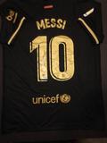 Lionel Messi F.C. Barcelona  Autographed Nike Soccer Jersey GA coa