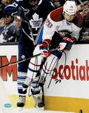 Colby Armstrong Montreal Canadiens Autographed 8x10 Photo Mancave Authenticated coa