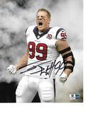 J.J. Watt Houston Texans Autographed 8x10 Photo GA coa
