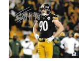 T.J. Watt Pittsburgh Steelers Autographed 8x10 Photo GA coa