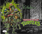 Kevin Eastman Teenage Mutant Ninja Turtles Autographed 8x10 Photo JSA W coa