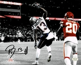 Phillip Dorsett New England Patriots Autographed 8x10 Photo Full Time coa