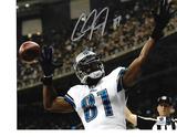 Calvin Johnson Detroit Lions Autographed 8x10 Photo GA coa