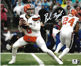 Baker Mayfield Cleveland Browns Autographed 8x10 Photo GA coa
