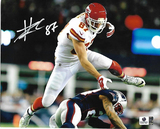 Travis Kelce Kansas City Chiefs Autographed 8x10 Photo GA coa