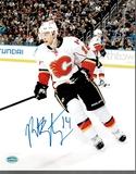 Matt Stajan Calgary Flames Autographed 8x10 Photo Mancave Authenticated coa
