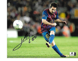 Lionel Messi F.C. Barcelona Autographed 8x10 Photo GA coa