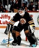 Reggie Lemelin Boston Bruins Autographed 8x10 Photo Full Time coa