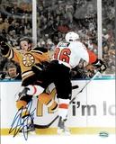 Darroll Powe Philadelphia Flyers Autographed 8x10 Photo Mancave Authenticated coa