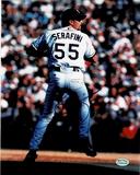 Dan Serafini San Diego Padres Autographed 8x10 Photo Mancave Authenticated coa