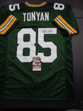 Robert Tonyan Green Bay Packers Autographed Custom Jersey JSA W coa