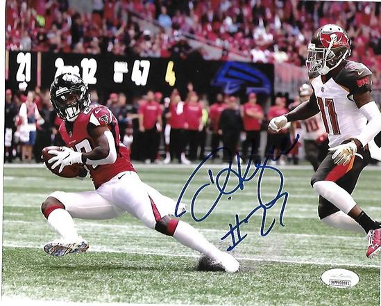Damontae Kazee Atlanta Falcons Autographed 8x10 photo JSA W coa