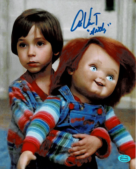 Alex Vincent Andy Childs Play Autographed & Inscribed 8x10 Photo Full Time coa