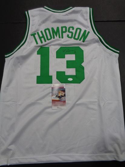 Tristan Thompson Boston Celtics Custom Basketball Style Jersey JSA W coa